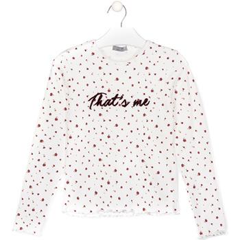 Abbigliamento Unisex bambino T-shirt & Polo Losan 024-1008AL Bianco