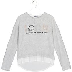 Abbigliamento Unisex bambino T-shirt & Polo Losan 024-1024AL Grigio