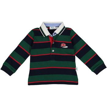 Abbigliamento Bambino Polo maniche lunghe Melby 20C0270 Verde