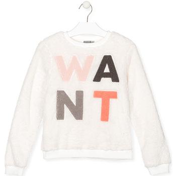Abbigliamento Unisex bambino Felpe Losan 024-6021AL Bianco