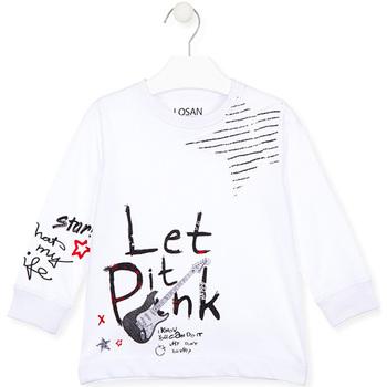 Abbigliamento Unisex bambino T-shirt & Polo Losan 025-1000AL Bianco