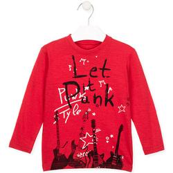 Abbigliamento Unisex bambino T-shirt & Polo Losan 025-1001AL Rosso
