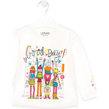 Abbigliamento Unisex bambino T-shirt & Polo Losan 026-1003AL Bianco