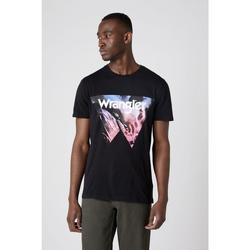 Abbigliamento Uomo T-shirt & Polo Wrangler T-shirt  Cowboy Cool noir