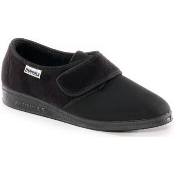 Scarpe Donna Pantofole Emanuela 601 NERO