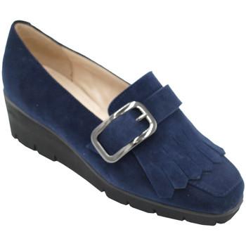 Scarpe Donna Mocassini Angela Calzature ANSANGC727blu blu