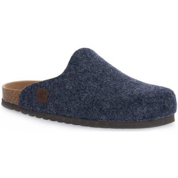 Scarpe Pantofole Bioline JEANS MERINOS Blu