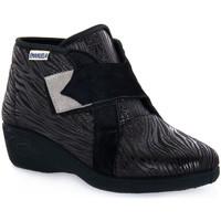Scarpe Donna Sneakers alte Emanuela 2302 VOX NERO Nero