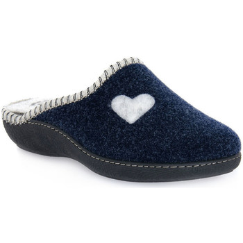 Scarpe Donna Pantofole Emanuela 1800 BLU PANTOFOLA Blu