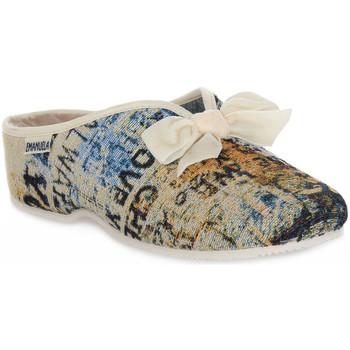 Scarpe Donna Pantofole Emanuela 2900 GOBE 320 Grigio