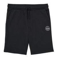 Abbigliamento Bambino Shorts / Bermuda Jack & Jones JJI SHARK JJSWEAT Nero