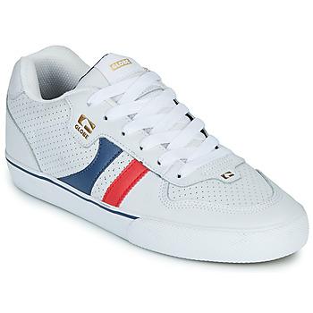 Scarpe Uomo Sneakers basse Globe ENCORE-2 Bianco / Blu / Rosso