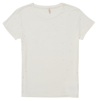 Abbigliamento Bambina T-shirt maniche corte Only KONMOULINS Bianco