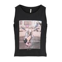 Abbigliamento Bambina Top / T-shirt senza maniche Only KONLANA Nero