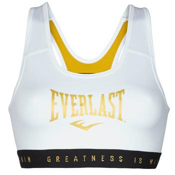 Abbigliamento Donna Reggiseno sportivo Everlast EVL BRAND BR Bianco / Dore