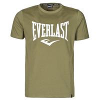 Abbigliamento Uomo T-shirt maniche corte Everlast EVL- BASIC TEE-RUSSEL Khaki