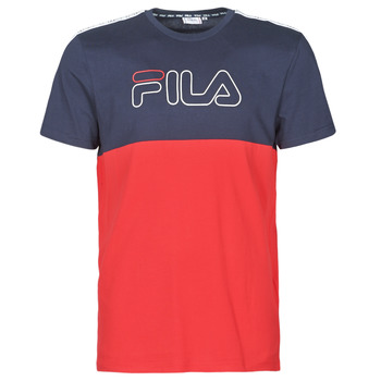 Abbigliamento Uomo T-shirt maniche corte Fila JOPI Rosso / Marine