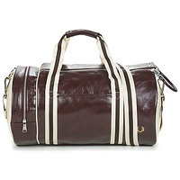 Borse Uomo Borse da sport Fred Perry CLASSIC BARREL BAG Marrone