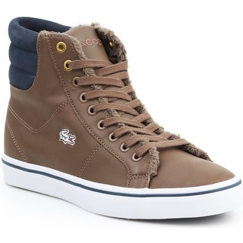 Scarpe Donna Sneakers alte Lacoste Marcel MID PWT DK 7-26SPW4118DK4 brown, granatowy