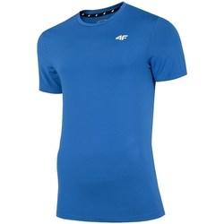 Abbigliamento Uomo T-shirt maniche corte 4F TSMF002 Azzuro