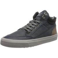 Scarpe Uomo Sneakers alte S.Oliver Stivaletti piatti blu scuro Blue