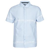 Abbigliamento Uomo Camicie maniche corte Kaporal STEVE Blu