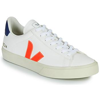 Scarpe Sneakers basse Veja CAMPO Bianco / Arancio / Blu