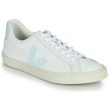 Scarpe Donna Sneakers basse Veja ESPLAR LOGO Bianco / Blu