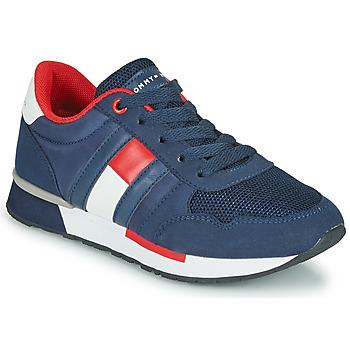 Scarpe Unisex bambino Sneakers basse Tommy Hilfiger JEROME Blu