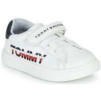 Scarpe Unisex bambino Sneakers basse Tommy Hilfiger MARILO Bianco