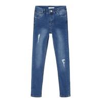 Abbigliamento Bambina Jeans slim Name it NKFPOLLY Blu
