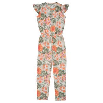 Abbigliamento Bambina Tuta jumpsuit / Salopette Name it NKFVINAYA JUMPSUIT Multicolore