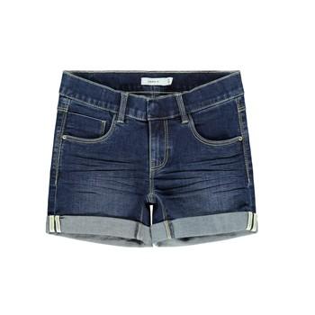 Abbigliamento Bambina Shorts / Bermuda Name it NKFSALLI Blu