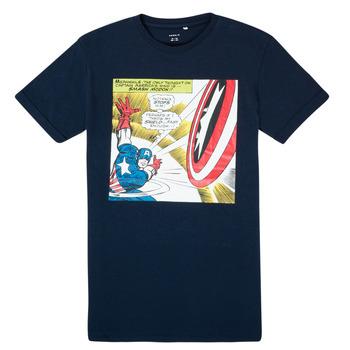 Abbigliamento Bambino T-shirt maniche corte Name it MARVEL Marine