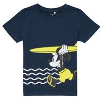 Abbigliamento Bambino T-shirt maniche corte Name it NMMMICKEY Marine