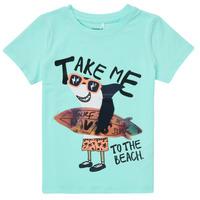 Abbigliamento Bambino T-shirt maniche corte Name it NMMFANO Blu