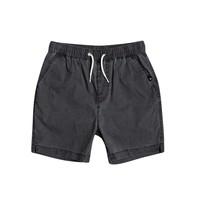 Abbigliamento Bambino Shorts / Bermuda Quiksilver TAXER WS Nero
