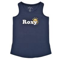 Abbigliamento Bambina Top / T-shirt senza maniche Roxy THERE IS LIFE FOIL Marine