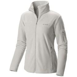 Abbigliamento Donna Felpe in pile Columbia Fast Trek II Jacket Bianco