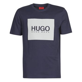 Abbigliamento Uomo T-shirt maniche corte HUGO DOLIVE Marine