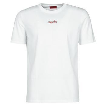 Abbigliamento Uomo T-shirt maniche corte HUGO DURNED Bianco