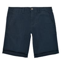 Abbigliamento Bambino Shorts / Bermuda Teddy Smith SHORT CHINO Marine