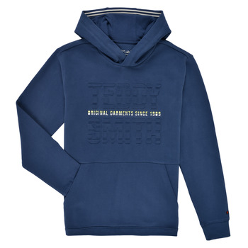 Abbigliamento Bambino Felpe Teddy Smith S-RUN HOODY Marine
