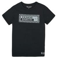 Abbigliamento Bambino T-shirt maniche corte Teddy Smith T-VANY Nero