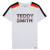 Abbigliamento Bambino T-shirt maniche corte Teddy Smith T-MACK Bianco