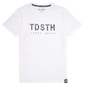 Abbigliamento Bambino T-shirt maniche corte Teddy Smith T-MAX Bianco