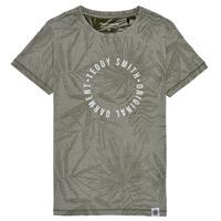 Abbigliamento Bambino T-shirt maniche corte Teddy Smith T-OTYS Kaki