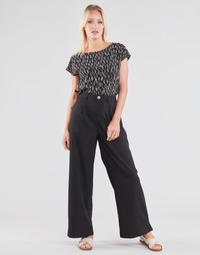 Abbigliamento Donna Pantaloni morbidi / Pantaloni alla zuava Molly Bracken EF1424P21 Nero
