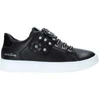 Scarpe Unisex bambino Sneakers basse Miss Sixty W19-SMS641 Nero