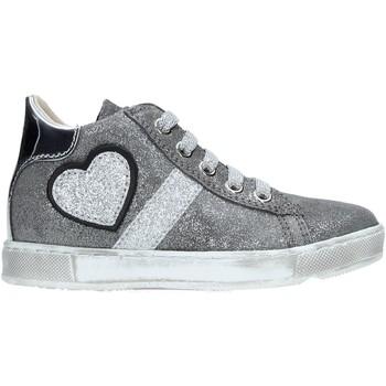 Scarpe Unisex bambino Sneakers alte Naturino 2014191 01 Argento